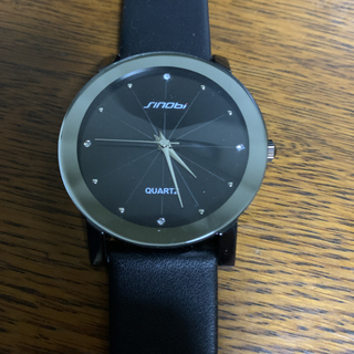Sinobi ファション 腕時計 メンズ レザーバンド アナログ ファッション