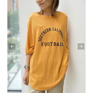 アパルトモンドゥーズィエムクラス(L'Appartement DEUXIEME CLASSE)のL'Appartement  Americana Football T-sh(カットソー(長袖/七分))