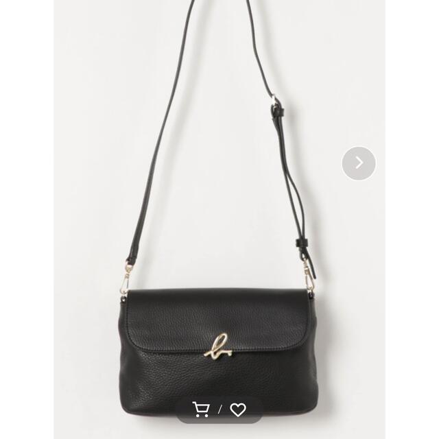 agnes b.(アニエスベー)のアニエスベー レザー ショルダーバッグ レディースのバッグ(ショルダーバッグ)の商品写真