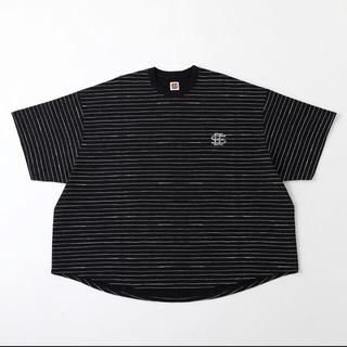 XL SEE SEE BIG S/S TEE BORDER Tシャツ ネイビー