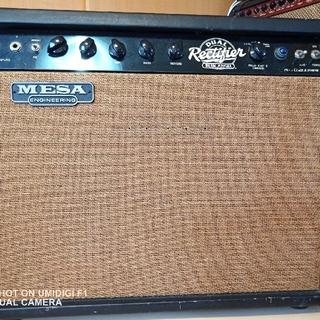 希少 Mesa Boogie Dual Rectifier Blue Angel(ギターアンプ)
