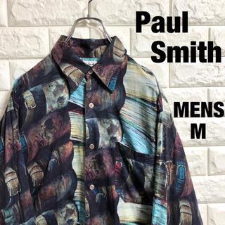 Paul Smith - ポールスミス  クレイジーシャツ 長袖総柄シャツ メンズMサイズ