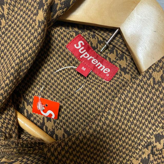 Supreme(シュプリーム)のSupreme Hundstooth LogosSnapFrontJacket  メンズのジャケット/アウター(ブルゾン)の商品写真