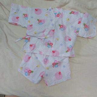 ミキハウス(mikihouse)の甚平 女児  90センチ ミキハウス(甚平/浴衣)
