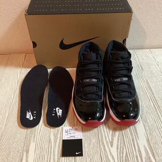 NIKE - Jordan11 bred 26.5cm