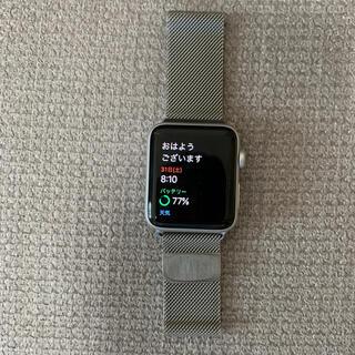 Apple Watch - Apple Watch  Series3 42mmアルミ