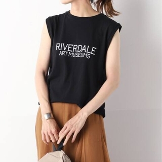 FRAMeWORK - ★新品★ フレームワーク 別注MUSEUMSノースリーブTシャツ◆ 黒色