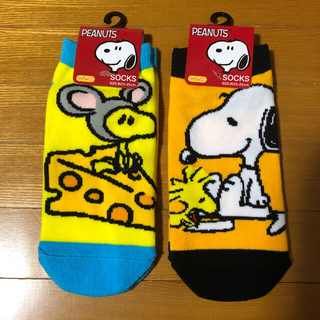 スヌーピー(SNOOPY)の新品 スヌーピー ソックス 靴下(ソックス)