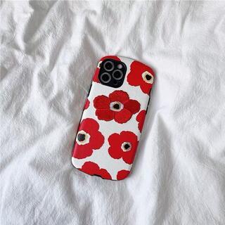 iPhone12ケース iPhone12Proケース フラワー 刺繍 送料無料♪