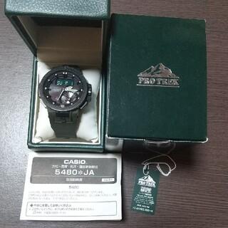 カシオ(CASIO)のレアカラー カーキ  PROTREK  PRW-7000-3JF (腕時計(アナログ))