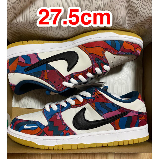 NIKE(ナイキ)のNIKE SB DUNK LOW PRO QS PARRA 27.5 メンズの靴/シューズ(スニーカー)の商品写真