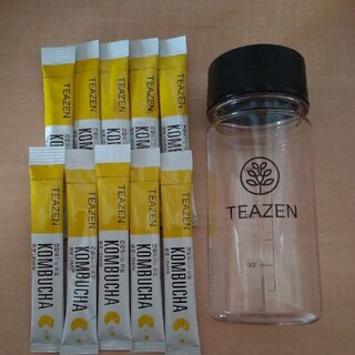 ティーゼン コンブ茶 レモン×10(ダイエット食品)