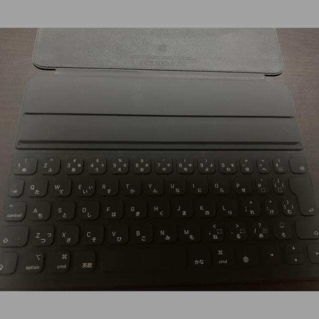 Apple(アップル)のiPad Pro 11インチ スマートキーボードフォリオ 日本語入力 スマホ/家電/カメラのPC/タブレット(タブレット)の商品写真