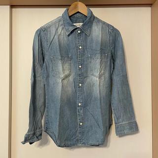 ルシェルブルー(LE CIEL BLEU)のルシェルブルー LE CIEL BLEU デニムシャツ シャツ(シャツ/ブラウス(半袖/袖なし))
