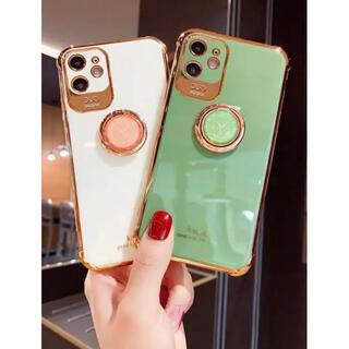 【各サイズあり】iPhone11ケース スマホケース TPU  韓国 ホワイト