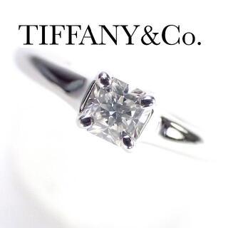 Tiffany & Co. - ティファニー TIFFANY 0.28ct E VS1 EX  ルシダ リング