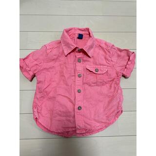 babyGAP - babygap 80cm カラーシャツ ピンク 男の子 ベビーギャップ