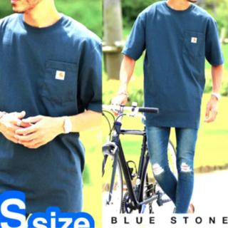 カーハート(carhartt)のCarhartt  POCKET T-SHIRT送料無料 ブルーストーンカラー(Tシャツ/カットソー(半袖/袖なし))
