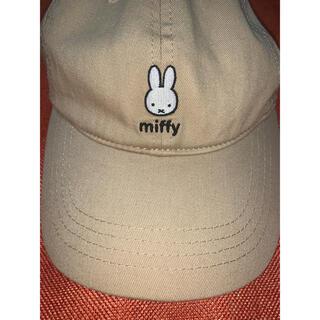 しまむら - 綿100%ミッフィーキャップ帽子