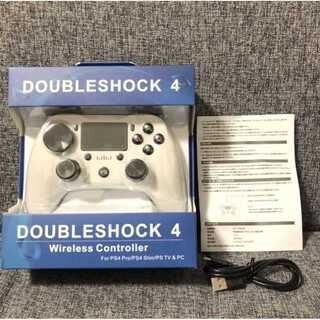 PS4 ワイヤレスコントローラー ホワイト 白色(その他)
