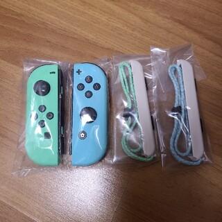 ニンテンドースイッチ(Nintendo Switch)のNintendo Switch あつまれどうぶつの森 joy-conセット(その他)