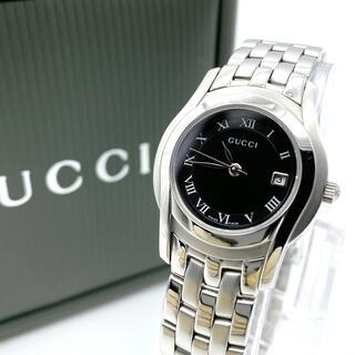 Gucci - 良品☆新品電池 GUCCIグッチ 5500L  レディース腕時計