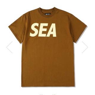 SEA - SEA S/S T-SHIRT / BROWN-BEIGE