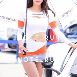 【xhw】コスチューム RQ レースクイーン 衣装 白・橙(衣装一式)