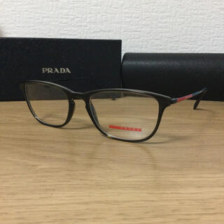 プラダ(PRADA)の正規新品 プラダ  メガネ クリアブラウン(サングラス/メガネ)