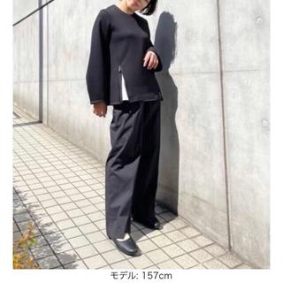 UNIQLO - 【未使用】+J ワイドパンツ 黒 完売品 ジルサンダー プラスJ