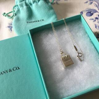 Tiffany & Co. - TIFFANY  ティファニー  ショッピングバッグ  ネックレス
