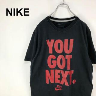 ナイキ(NIKE)のナイキ☆デカロゴ 黒 Tシャツ カットソー(Tシャツ/カットソー(半袖/袖なし))