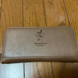 ミッキーマウス(ミッキーマウス)のミッキーマウスファスナー財布(財布)
