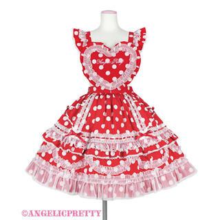 Angelic Pretty - angelic Pretty Heart胸あて付スカート