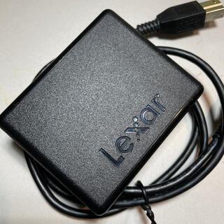 レキサー(Lexer)のLexar XQDカードリーダProfessional Workflow XR2(PC周辺機器)