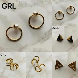 グレイル(GRL)のGRL AZUL / ピアス3点SET(両耳)です。(ピアス)