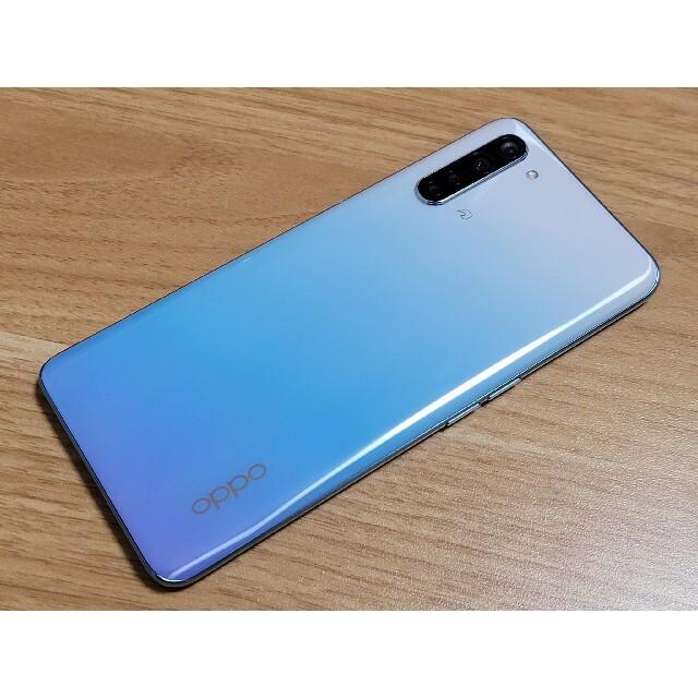 OPPO(オッポ)のOPPO Reno3A ホワイト SIMフリー ワイモバイル 6GB/128GB スマホ/家電/カメラのスマートフォン/携帯電話(スマートフォン本体)の商品写真