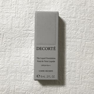 COSME DECORTE - コスメデコルテ  ザリキッドファンデーション 302 6ml
