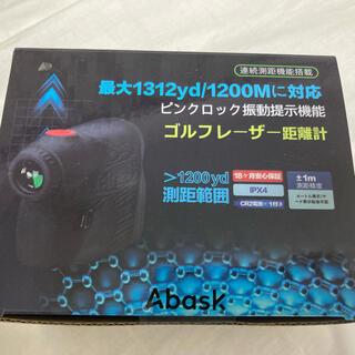 Nikon - [新品未使用]ABASK ゴルフレーザー 距離計
