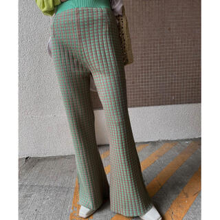 Ameri VINTAGE - アメリヴィンテージ COLORFUL GINGHAM CHECK PANTS