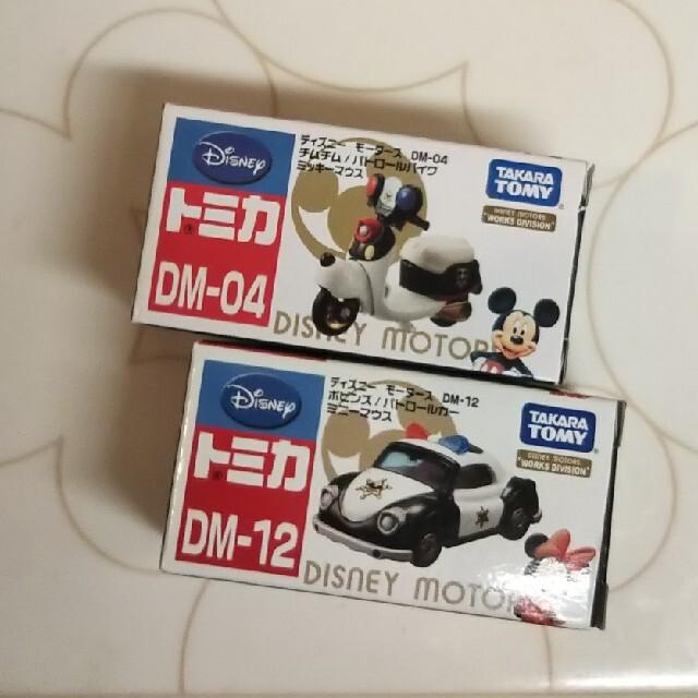 Disney(ディズニー)の【絶版】◆ ミッキー&ミニーのパトロール仕様車 エンタメ/ホビーのおもちゃ/ぬいぐるみ(ミニカー)の商品写真