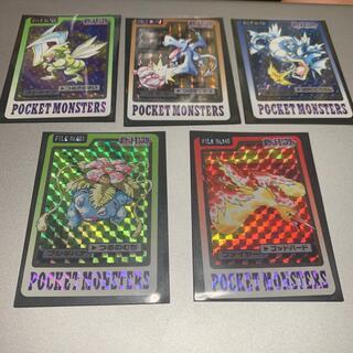 ポケモン(ポケモン)のポケットモンスター カードダス 5種セット(シングルカード)