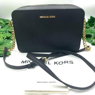 Michael Kors - MICHAELKORS マイケルコース チェーンショルダー ブラック 極美品