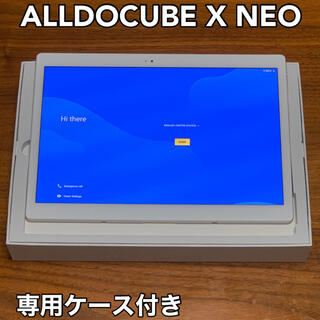 ALLDOCUBE X Neo +専用ケース付き