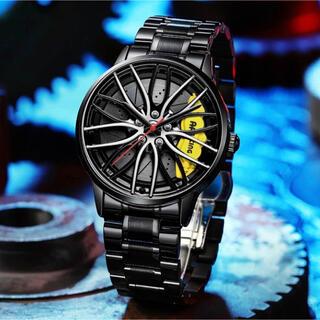 海外限定ブランド ホイール 高級腕時計 RAYS アナログ ステンレス ブレーキ