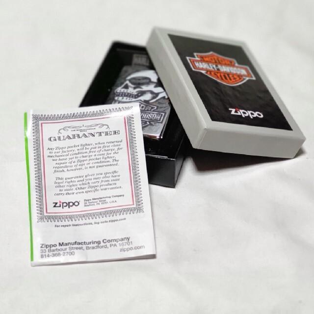 ZIPPO(ジッポー)のzippoジッポーライター ハーレーダビットソン 29281 メンズのファッション小物(タバコグッズ)の商品写真
