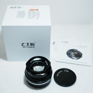 富士フイルム - 七工匠 7Artisans 35mm f1.2 FX FUJIFILM