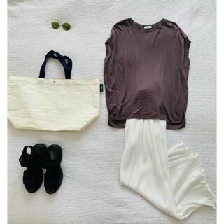 PLST - PLST♡こなれ色 柔らかとろみTシャツ 美品