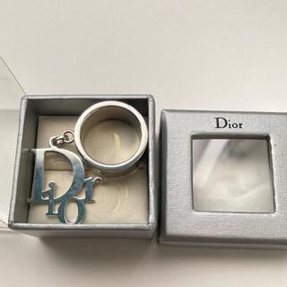Christian Dior - Dior ロゴチャーム付き リング