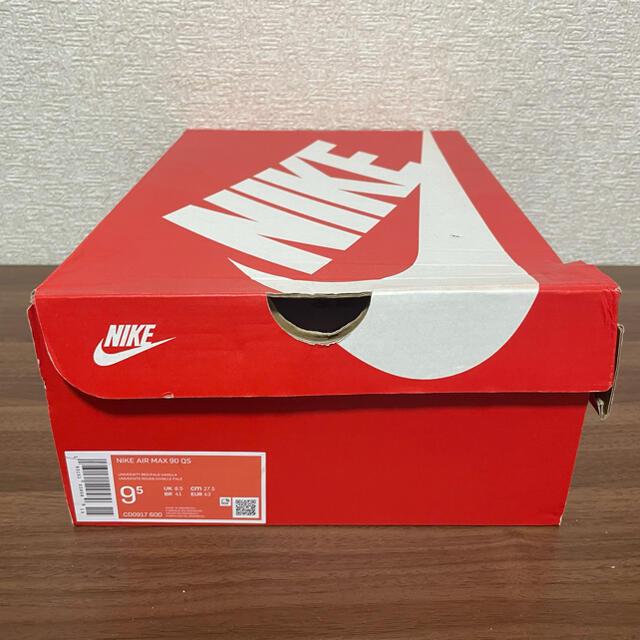 NIKE(ナイキ)のNIKE AIR MAX 90 VIOTECH UNIVERSITYRED メンズの靴/シューズ(スニーカー)の商品写真